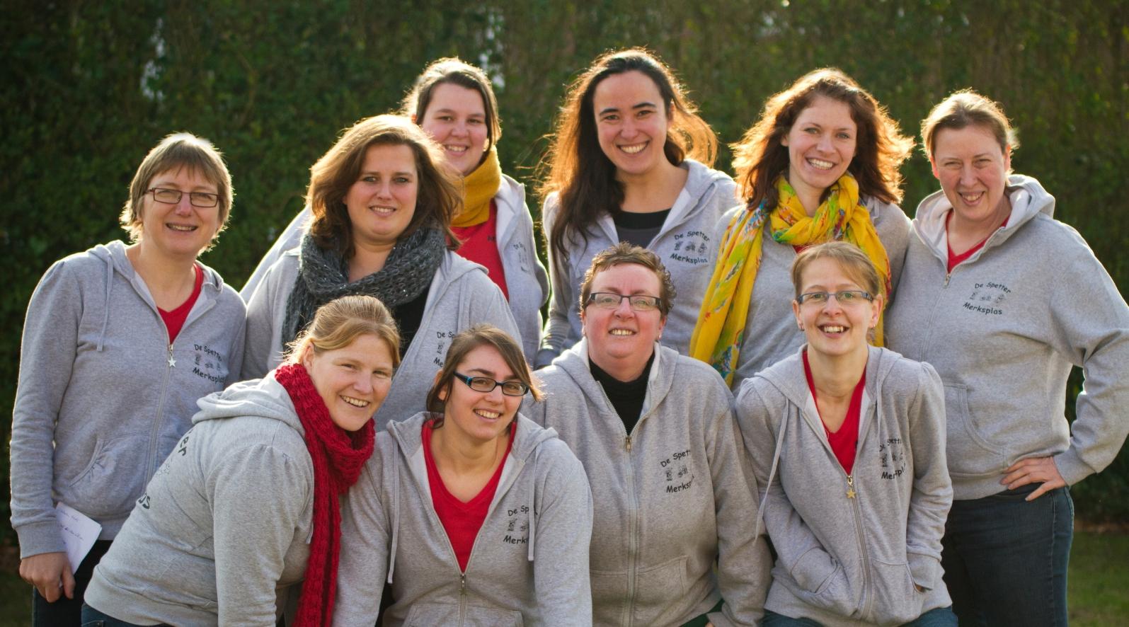 Het spetter-team